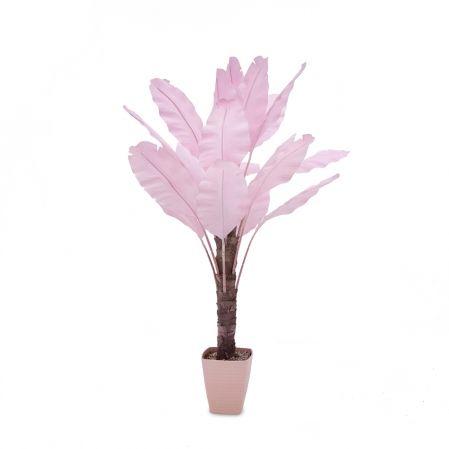 П160/356-2 Банановая Пальма розовая h160см(латекс)