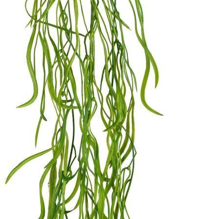 7143/0016-30 Трава ампельная искусственная, h85см (75+10) зеленая