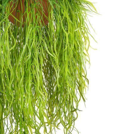 КЗ 19 Трава ампельная в подвесном кашпо d-26см (50xh140см)