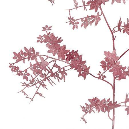 7143/0041-6/11-1 ветка Конопля мелкая h=105см (60+45) светло-бордовый