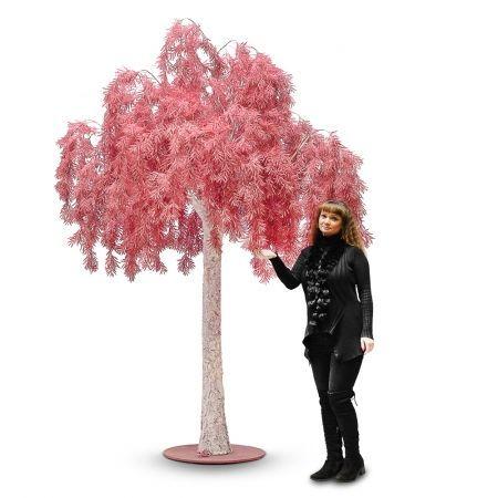 300разб/362 Дерево интерьерное (бордо) латекс h-300см