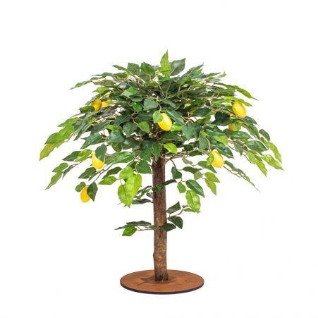 "БП 50/41(з.) Бонсай плодовый ""Лимон-мини"" на кругл.основании"