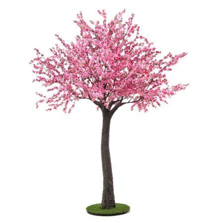 320разб/46-2 Сакура розовая разборная ствол коричневый (ширина кроны-200см)h-320