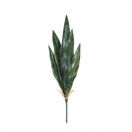 7143/0382-2/9 Сансевиерия (щучий хвост) маленьк.(зелен.)h 55 см