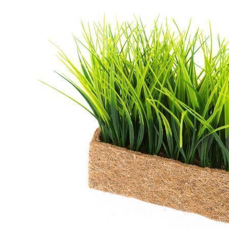 ТД0511 Трава короткая h 17см в кокосовом боксе (25*8*8)