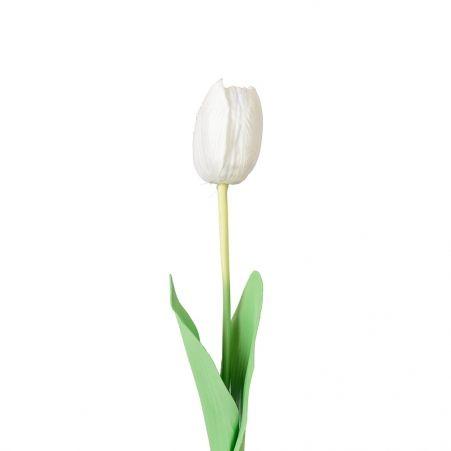 7141/0452-2/23Р Тюльпан одиночн.(белый) h-60см