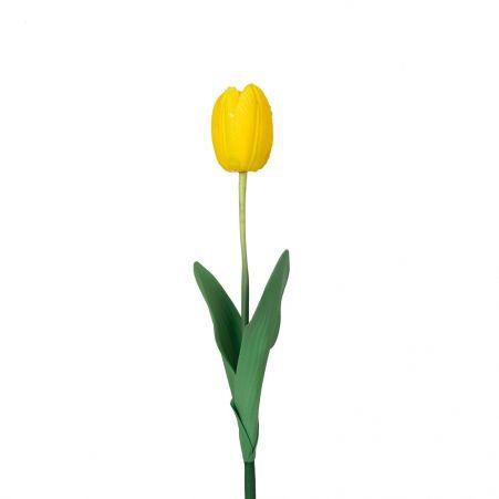 7141/0452-2/3Р Тюльпан одиночн.(желтый) h-60см