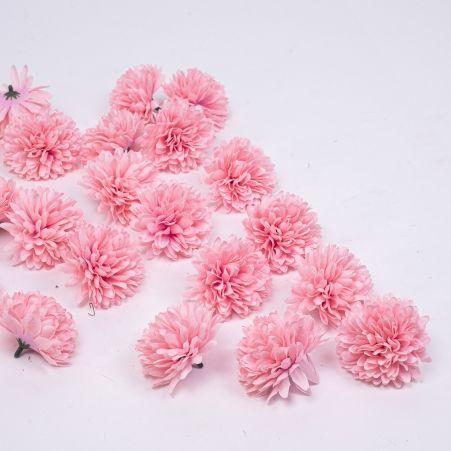 7146/0872-7/1 Голова хризантемы мал (розов)24шт.