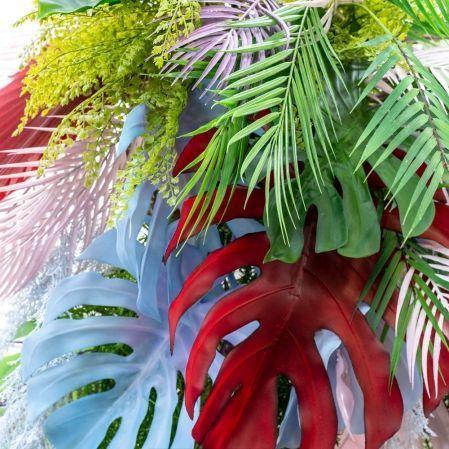 "ККД87/317(Promo) Кокедама ""Тропический микс"" d100см(латекс/силикон) на шаре d30см"