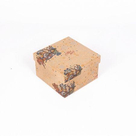 ККК13*13*8НГ Коробка квадратная крафт