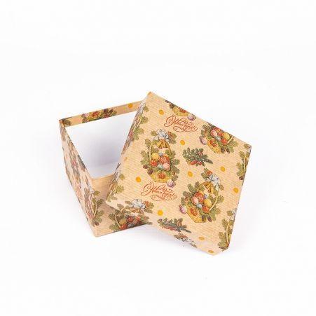 ККК11*11*7НГ Коробка квадратная крафт