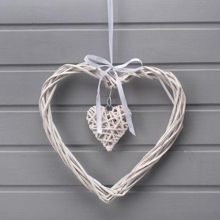 39/0058/2м (Sale) Сердце плетен. (30х29см)