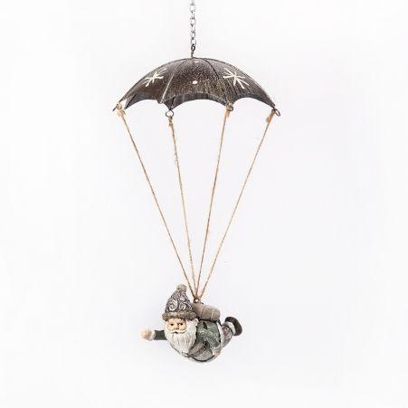 11/6082C Фигура Дед Мороз на парашюте