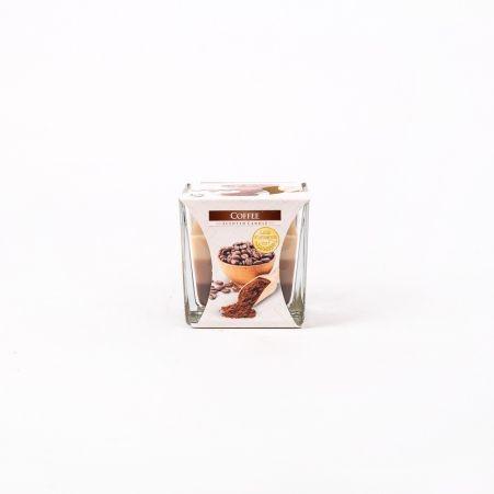 Свеча-стакан 80/89 Кофе (квадратная) snk80-89