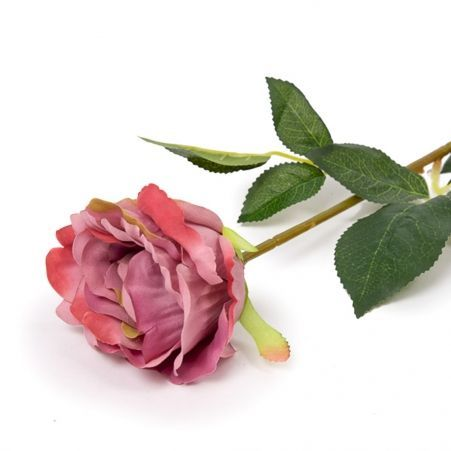 401/1072-1/1C Роза одиночная (пудрово-розовая) h68см