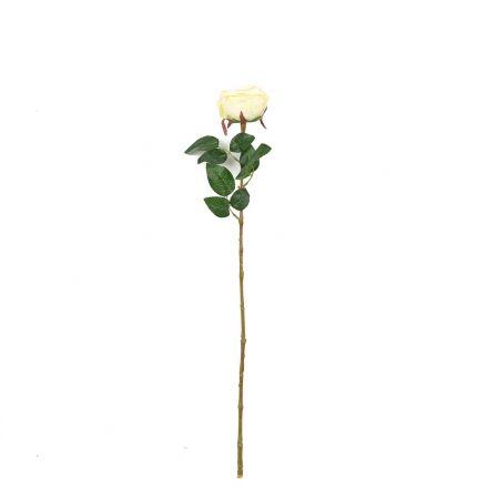 401/6063-12С Роза одиночная d10; h68см (чайная)