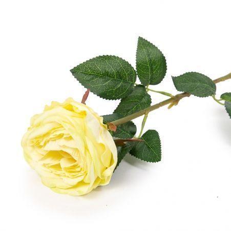401/6063-9С Роза одиночная d10; h68см (зеленая)