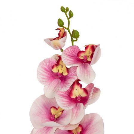 401/0150-5B Орхидея h98см(латекс) светло-розовая