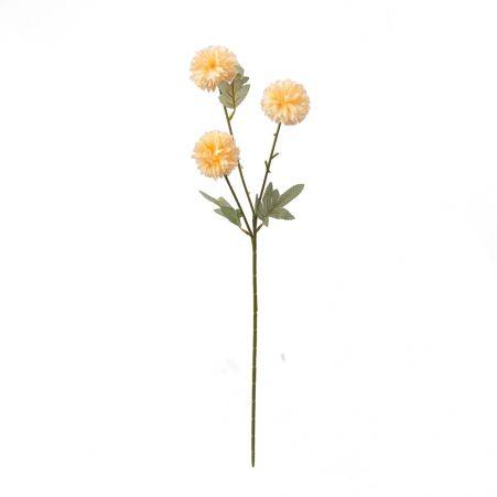 401/0237-13В Хризантема кустовая h64см (персиковая)