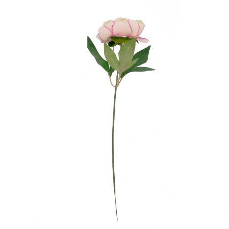 401/0474-4В Пион h51см (кремово-розовый)