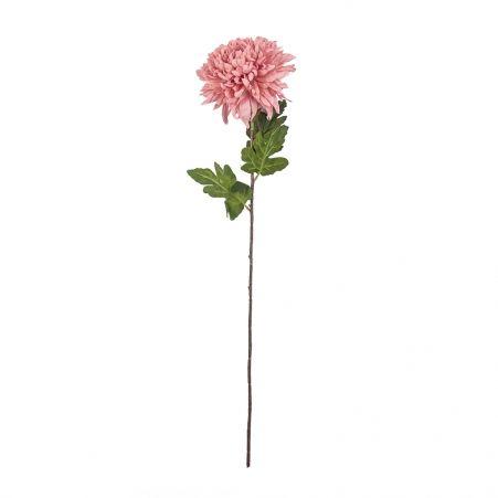 401/0742-5В Хризантема h85см (пыльно-розовая)