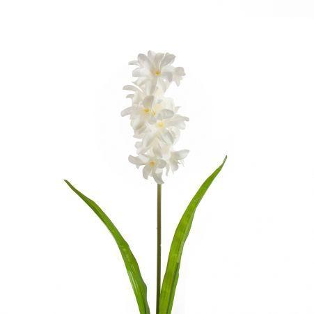 401/0184-23В Гиацинт h59см (белый)