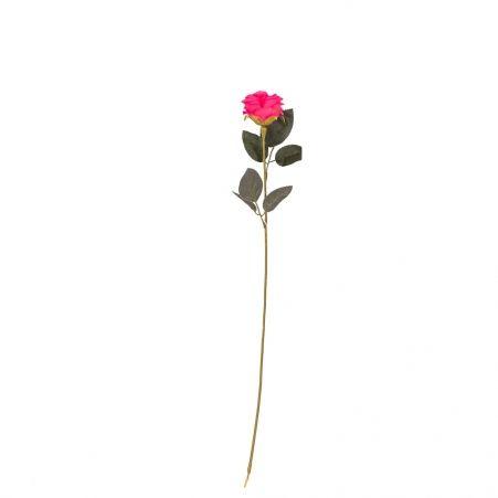 401/0048-7В Роза h56см (цикламен)