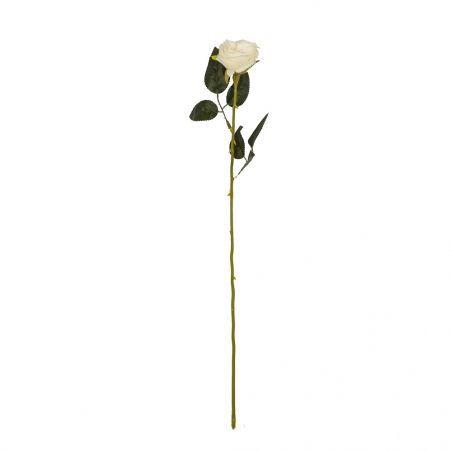 401/0048-23В Роза h56см (белая)