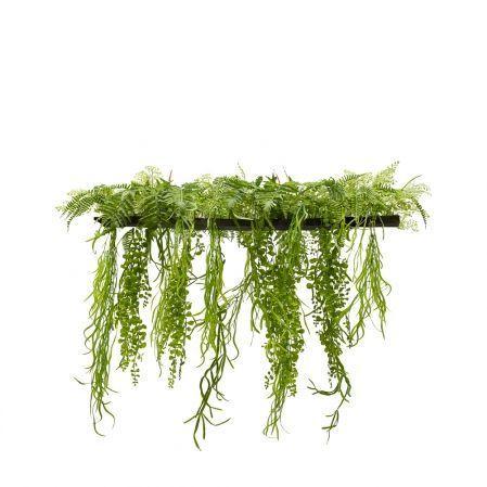 ВМ14-1(з.) Вставка с ампельными растениями 200*4*h3