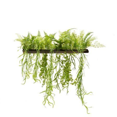 ВМ14(з.) Вставка с ампельными растениями 150*4*h3
