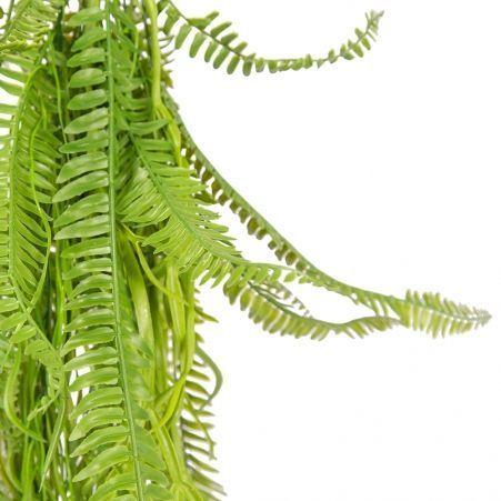 ВМ13-1(з.) Вставка подвесная d10см микс из папоротников с ампельными растениями