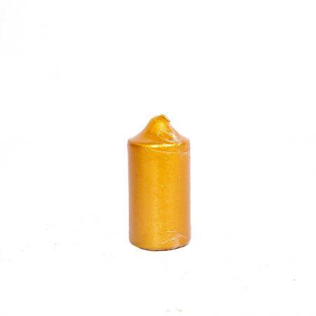 Свеча-цилиндр 50*100 (мет.золото)
