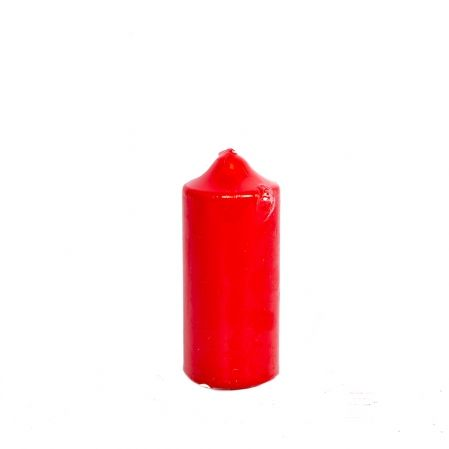 Свеча-цилиндр 50*120 (красная)