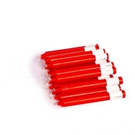Свеча столовая  20*178см (красная)(16шт/уп)