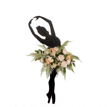 Фитопанно 02 с цветочной композицией 50*h85см