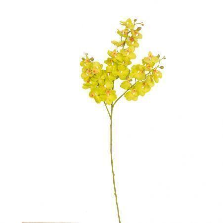 7141/0191-1/9 Орхидея *3 (зеленая) h 76 см