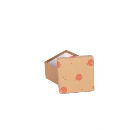 ККК11*11*7 Коробка квадратная крафт