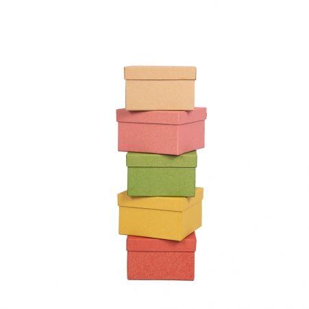 ККТ14,5*14,5*6 Коробка квадратная Крафт тонированная