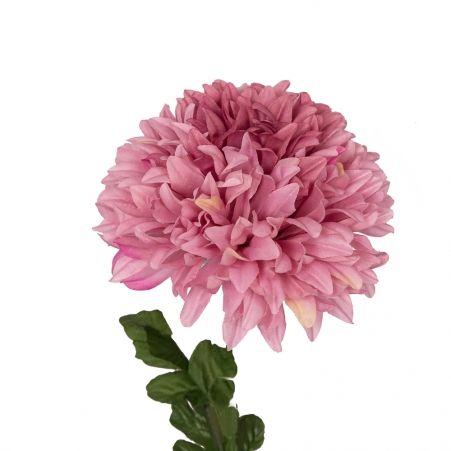 401/0561-1В Хризантема h86см (розовая)
