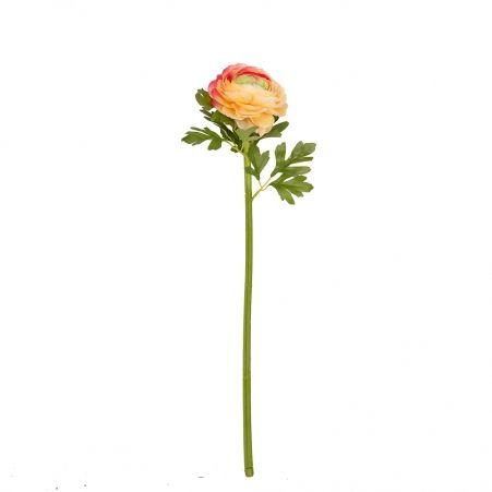 401/0522-13А Ранункулюс искусственный персиковый h 60см