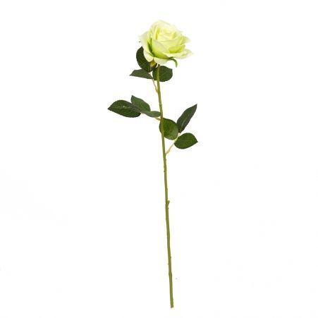 7141/9149-1/9 Роза сатиновая (зеленая)*1 h62см