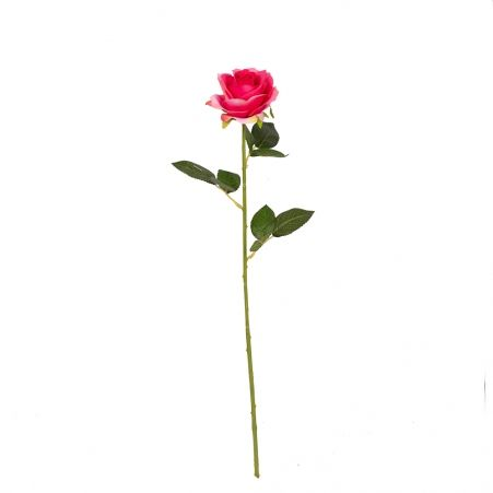 7141/9149-1/1 Роза сатиновая (розовая)*1 h62см