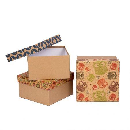 ККК18*18*10,5 Коробка квадр. (крафт)