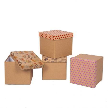 ККК14*14*14   Коробка квадратная крафт