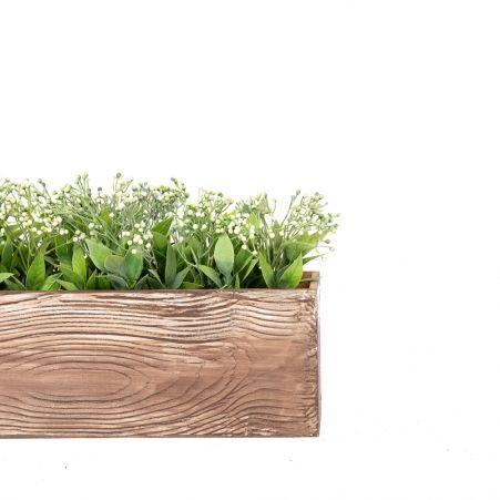 811/013-1 Ящик деревянный (мокко) 76*10*h12см