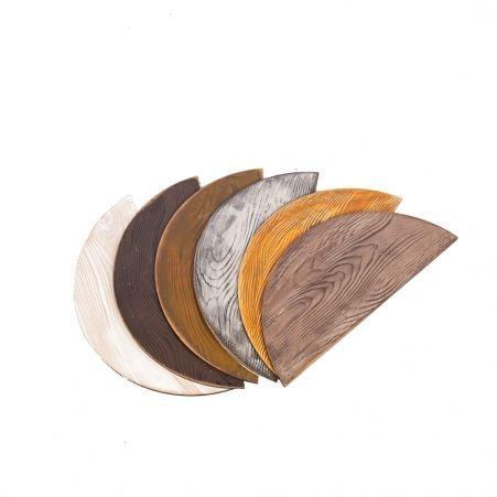 811/013-9 Ящик деревянный (фиолетово-голубой) 76*10*h12см