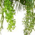 ВМ24/1(з.) Вставка подвесная зелень микс с ампельными растениями 80*9*h27