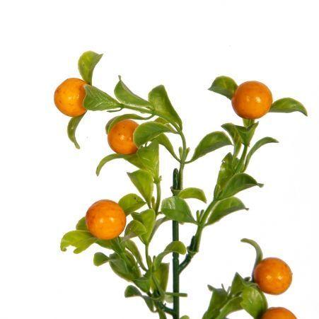 403/0028/1В Ветка декоративная с ягодами h48см (12шт/уп)