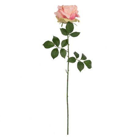 401/5402/1К Роза одиночная h78см (розовый)