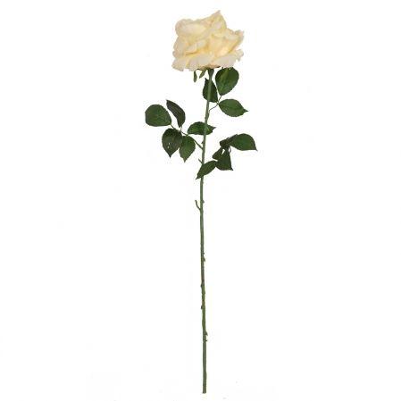 401/5402/4К Роза одиночная h78см (кремовый)